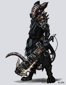 Cyborg Rat Knight