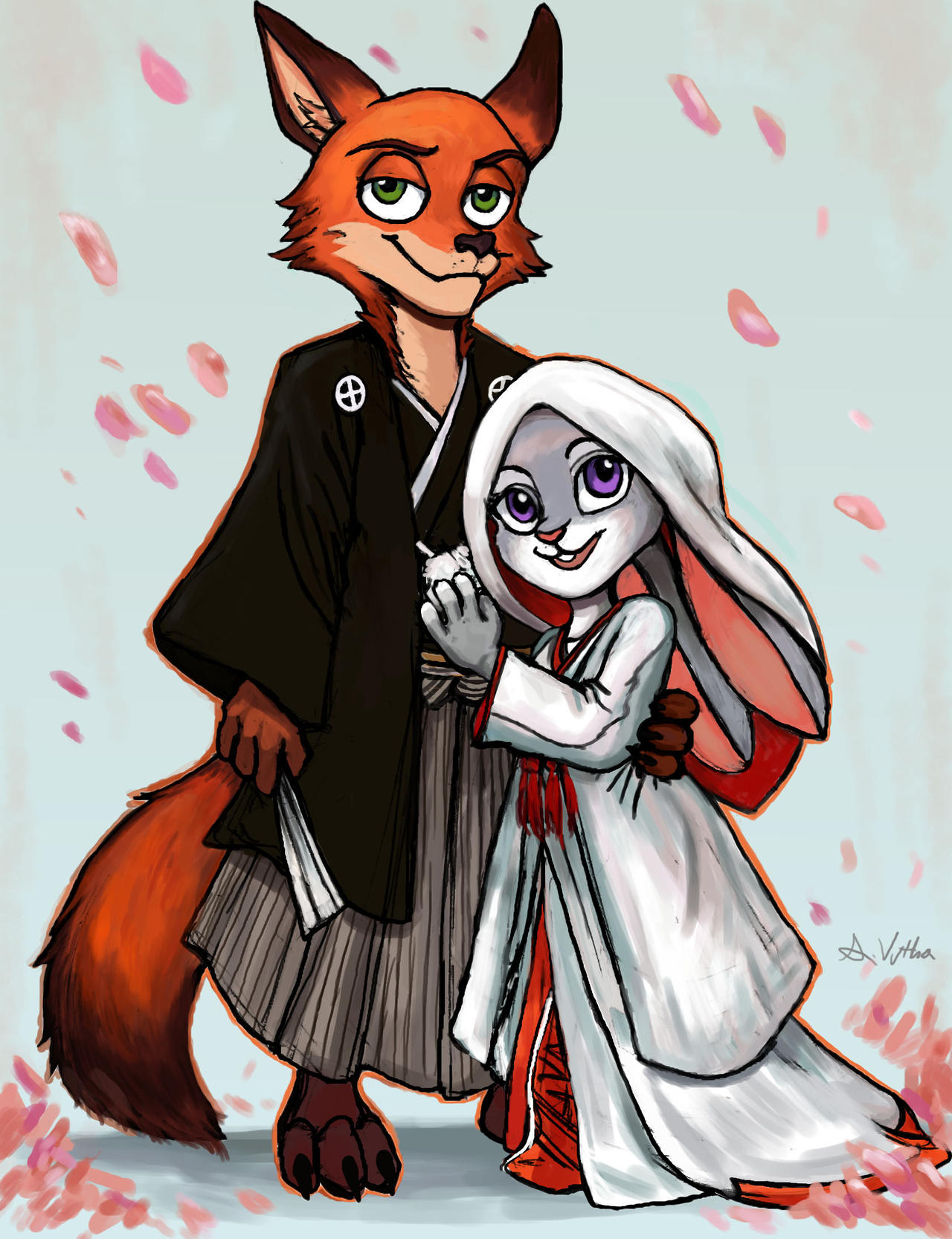 Nick and Judy  - Japanese Wedding