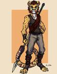 Cheetah Warrior - 01
