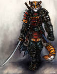 Tiger Samurai - Hiroshi Saito