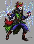 Wolf Mage (Commission - Binklescloryl)