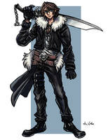 Squall Leonhart by TheLivingShadow
