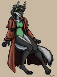 Marsha - Commission by TheLivingShadow
