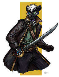 Muerto the Pirate - Commission by TheLivingShadow