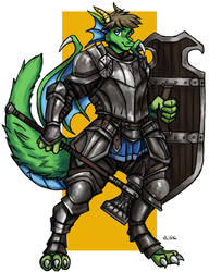 Geradex the Knight - Commission