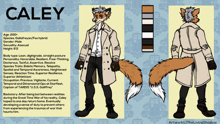 Caley - Ref Sheet Commission