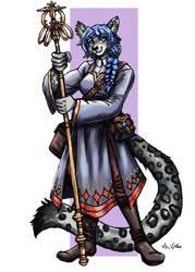 Tabitha the Priestess - Commission