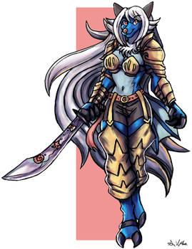 Sapphire - Commission