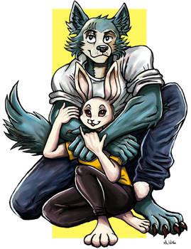 Legosi and Haru