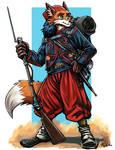 Zouave Fox