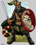Alani Sarmatian Tiger Warrior