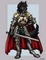 Soot the Knight - Commission