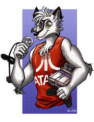 Arctic the Gamer - Commission