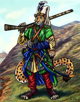 Ottoman Leopard Janissary