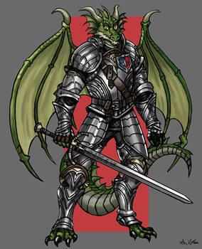 Paladin Dragonborn - Sir Robert Flamesparke