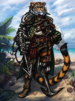 Pirate Tiger Captain
