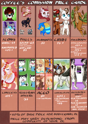 Commission price guide by ll-Coffee-ll