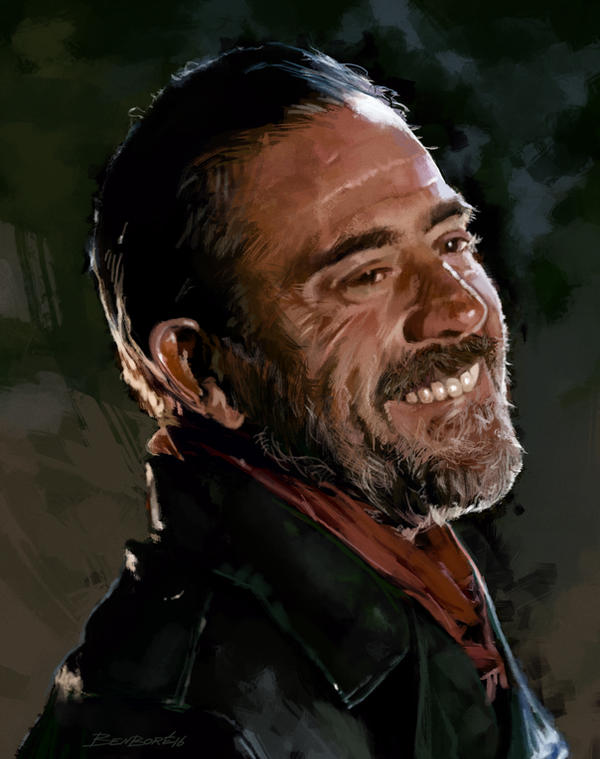 Negan Portrait by benboreart