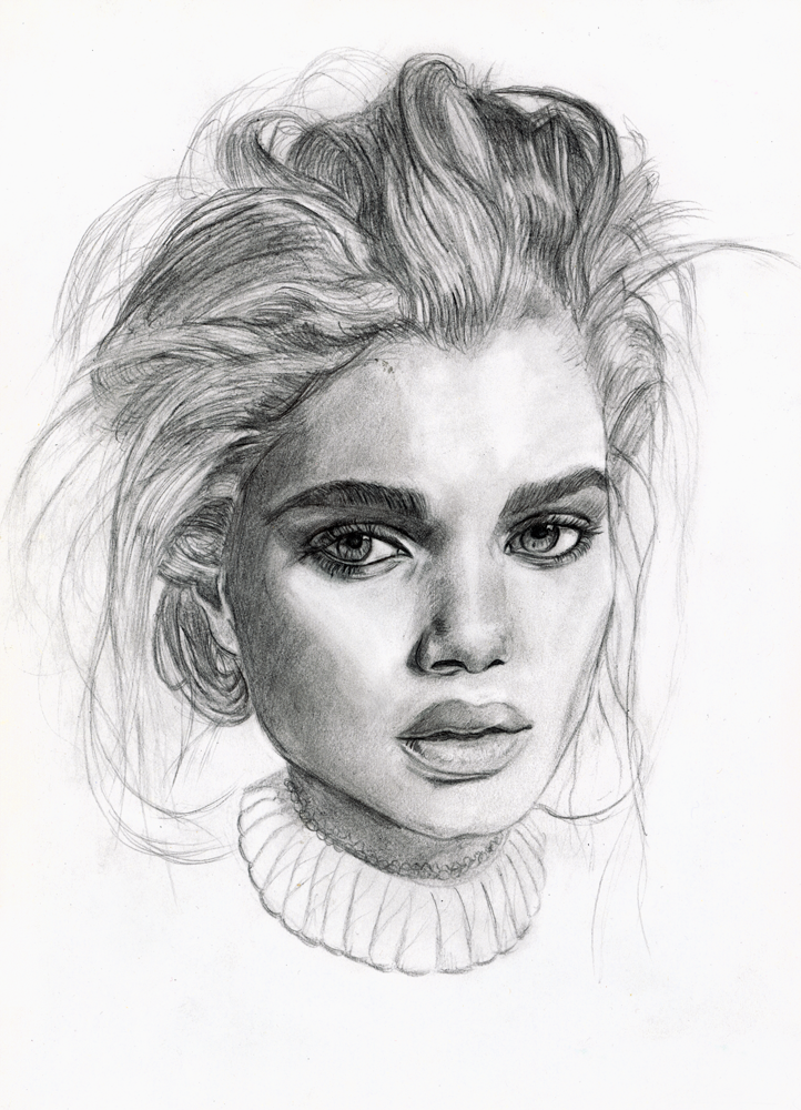 Scribble Drawing Portraits : Old portrait drawing by tomasz mro on deviantart