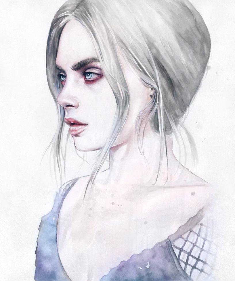 Cara Delevingne by Tomasz-Mro