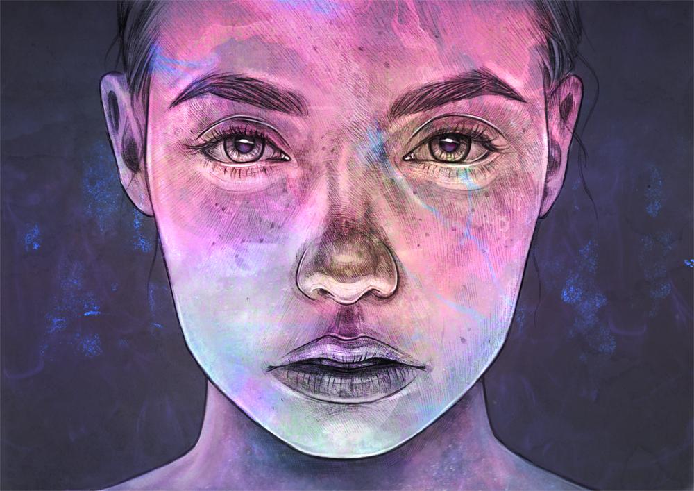 Cosmic Child by Tomasz-Mro