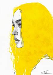 Yellow V by Tomasz-Mro