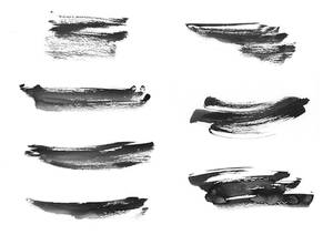 Black and White Ink Textures 3