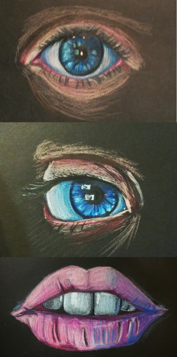 Eyes And Mouth by superninjamonkeys