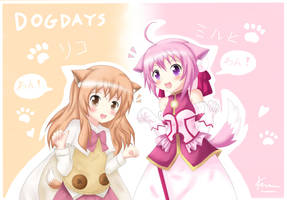 Dog Days - Millhi and Rico by KANE-NEKO