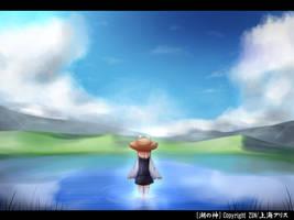 Touhou Suwako the God of Lake by KANE-NEKO