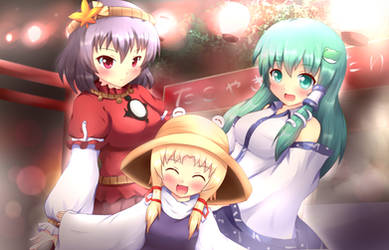 Touhou - Moriya Shrine Summer Festival