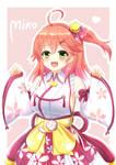 Vtuber - Sakura Miko