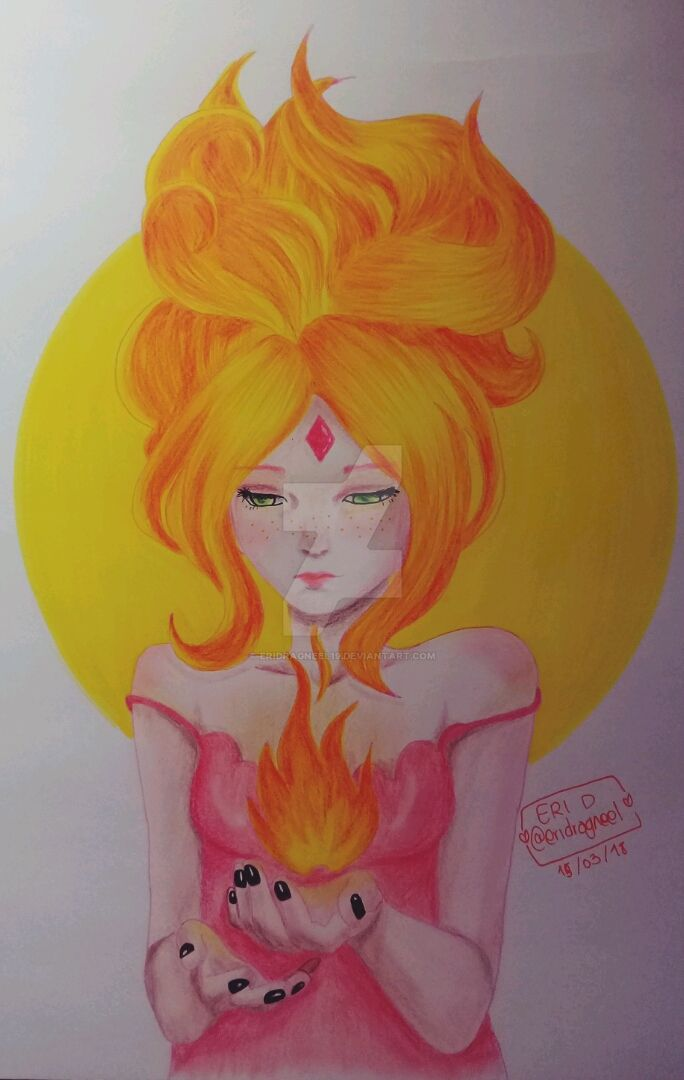 Princesa flama | Fire Element by EriDragneel19