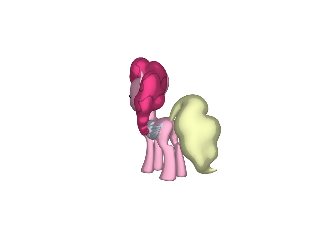 Pinkie's original tail color is gone. by jimmyhook19202122