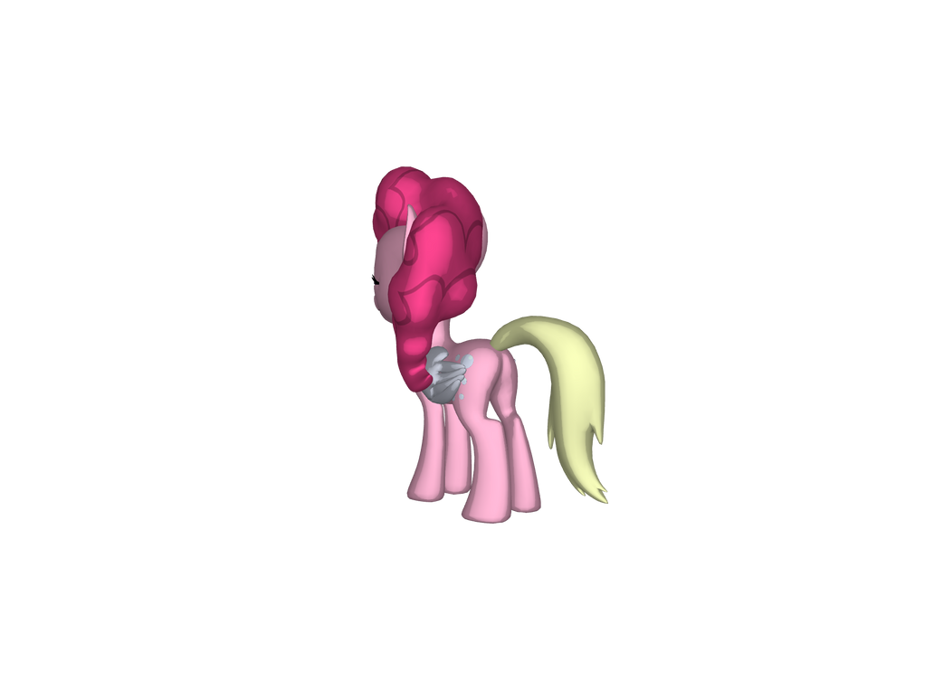 Pinkie's Tail changes into a different Tail by jimmyhook19202122