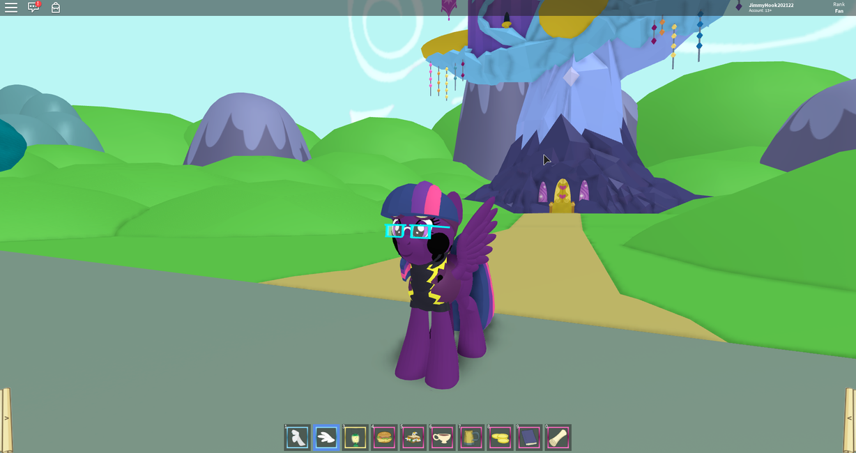 Midnight Sparkle (My attempt at making her) by jimmyhook19202122