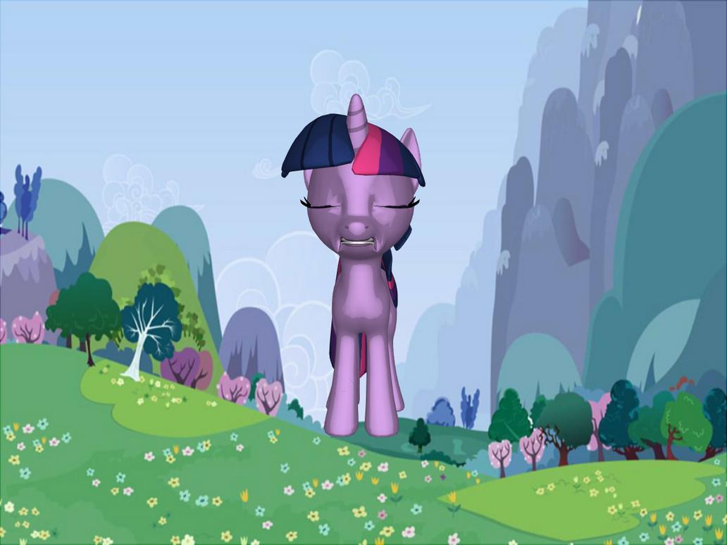 Twilight's Left Eye changes shape as well by jimmyhook19202122