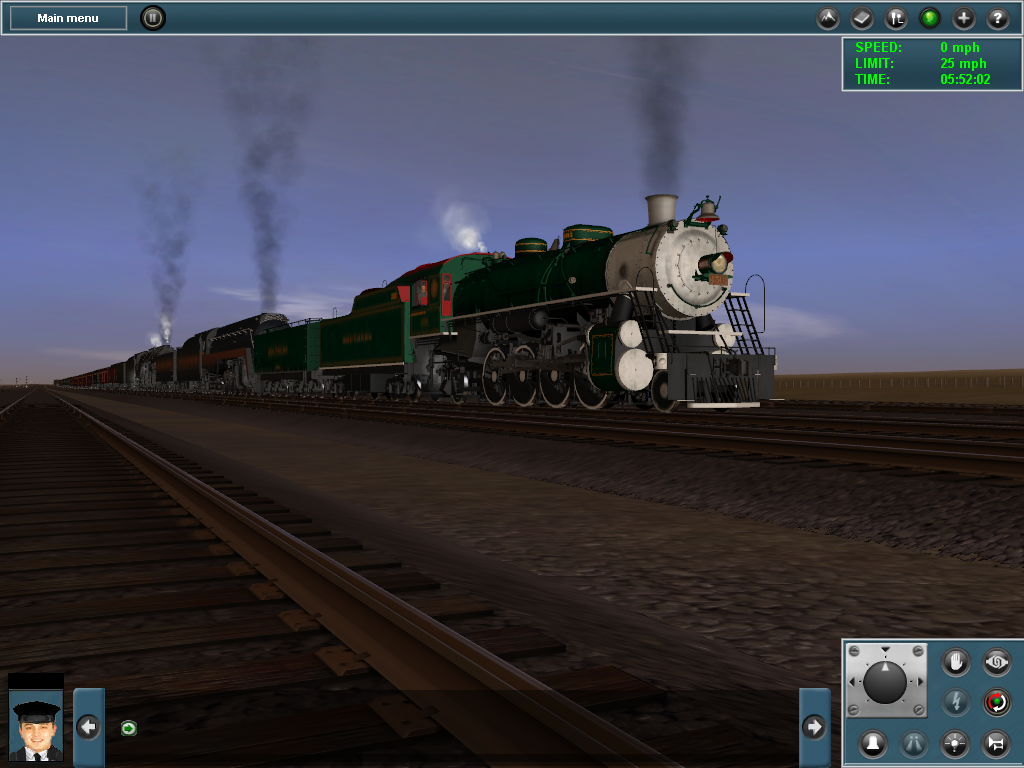4501, 611, and 1218 Tripleheader Recreation by