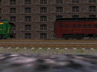 Easy does it to Passenger Car No. 10