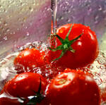 Sparkling Tomatoes