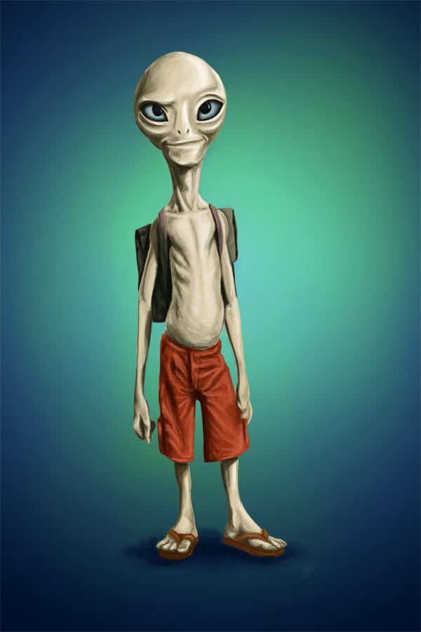 paul the alien for - photo #7