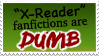 x-reader fanfictions are really dumb by ramsaybolt0nstamps