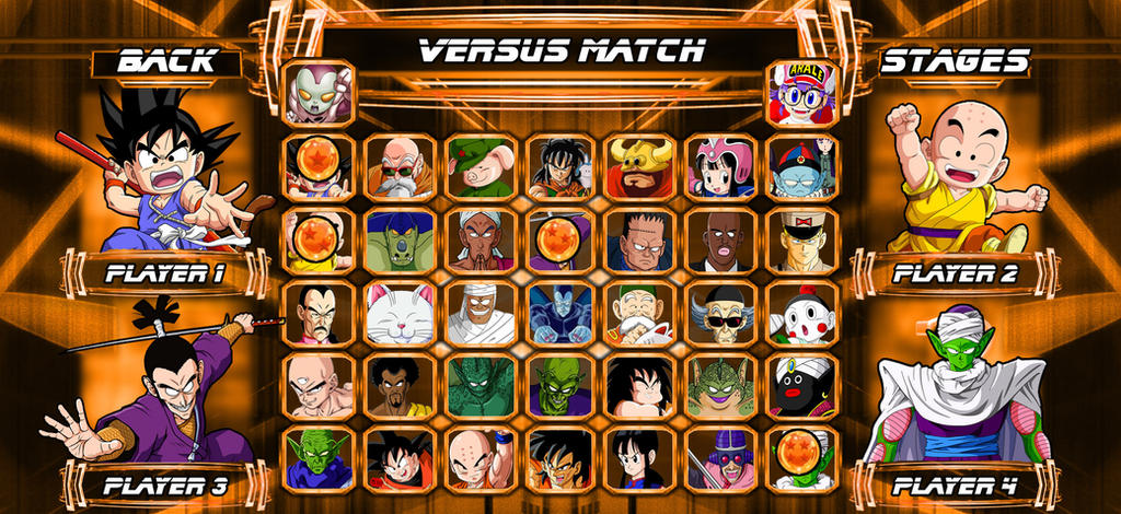 Dragon Ball Roster by AceofAbra