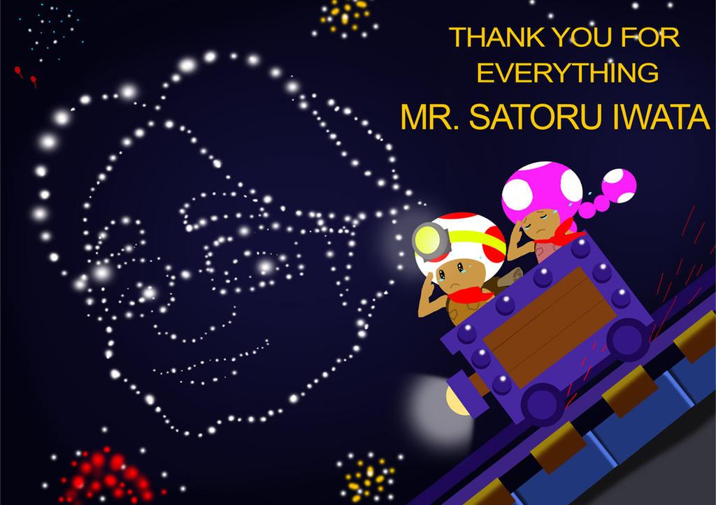 Goodbye Mr. Iwata by AceofAbra