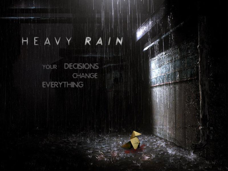 Heavy Rain Wallpaper by thecheekymunky on DeviantArt