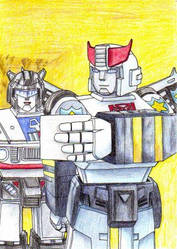 Prowl Has Some Blackmail by blackdragon21
