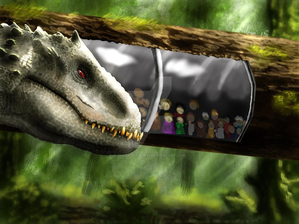 Elise the Indominus Rex by blackdragon21