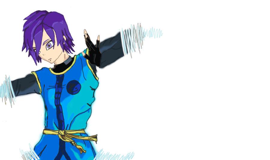 Dragon Ball X Raine by NinjaSoulMasamune