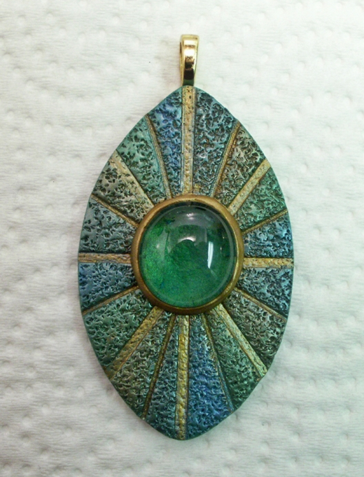 Polymer clay focal bead pendant by sweet2spicy on deviantart polymer clay focal bead pendant by sweet2spicy mozeypictures Images