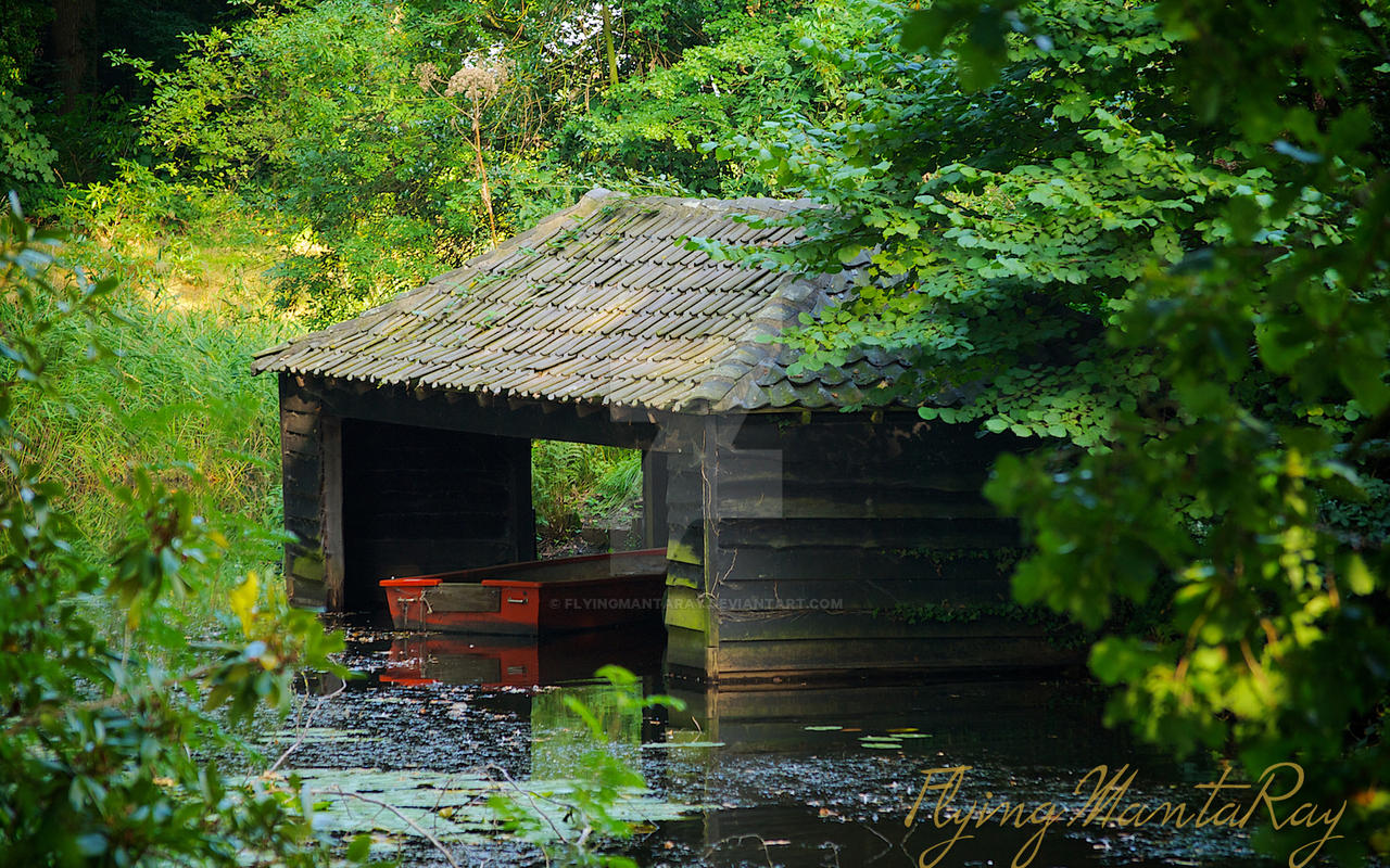 The Boat House by FlyingMantaRay